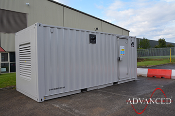 Perkins 140kVA Acoustic Enclosure