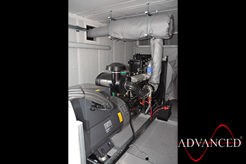 Perkins 140kVA Diesel Generator in a Acoustic Enclosure