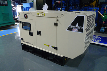Enclosed 22kVA Perkins