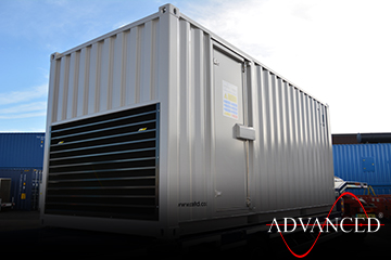 Perkins 250kVA Acoustic Enclosure