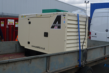 Perkins 22kVA Enclosed