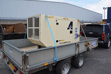 Perkins 22kva with sockets