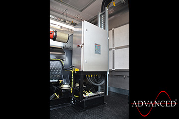 VeryHighSpecification330kVADieselGeneratorInside