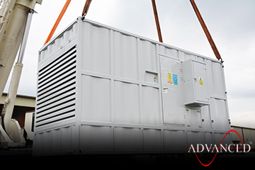 VeryHighSpecification330kVADieselGeneratorLifting
