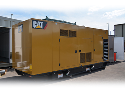 900kVA CAT Enclosed Generator