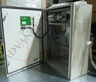 50A ATS Automatic Transfer Switch Panel 3Ph, 24V v