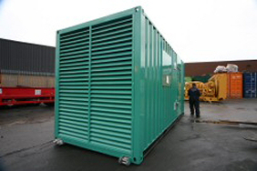 green generator container