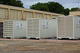 televised generator installation in africa