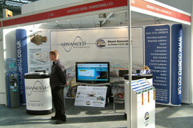rob brown sales manager at amps expo 2007