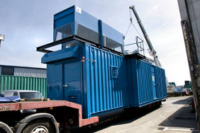gas-generator-on-truck