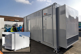 20 foot containerised gas power plant