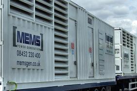 mems fleet of white generators