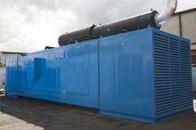 ultra silenced generator canopy
