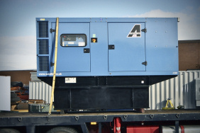 220kVA generator with extended fuel tank