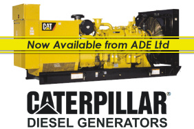 CAT generators now available from Advanced Diesel Engineering Ltd