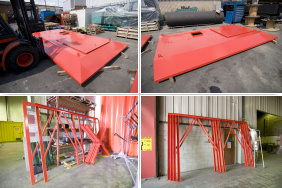 Parts for a pump station shelter