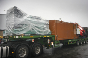 generator and fuel tank for UK hospital