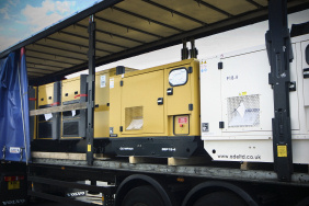 Multiple generators on a lorry