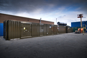 1000 kVA containerised substation with transformer and switchgear