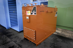 2000 litre steel fuel tank