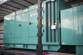 generators on lorry