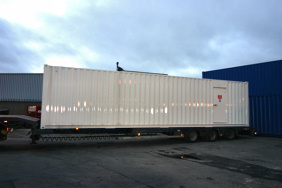 40ft Enclosure for Free Issued Genset