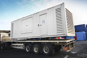 Generator supplied to ASDA supermarkets