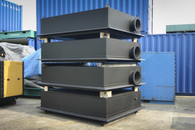 Generator exhaust silencers