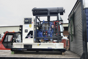65kVA generator for environment agency water management