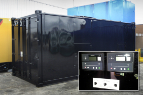 Refurbished generator container with new Deep Sea control units