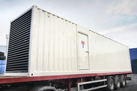 Standby generator for supermarket chain