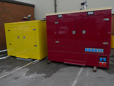 Two off 250kVA Volvo