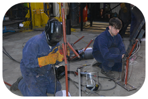 Tom Webster & Harrison Morgan - Welding Apprentices