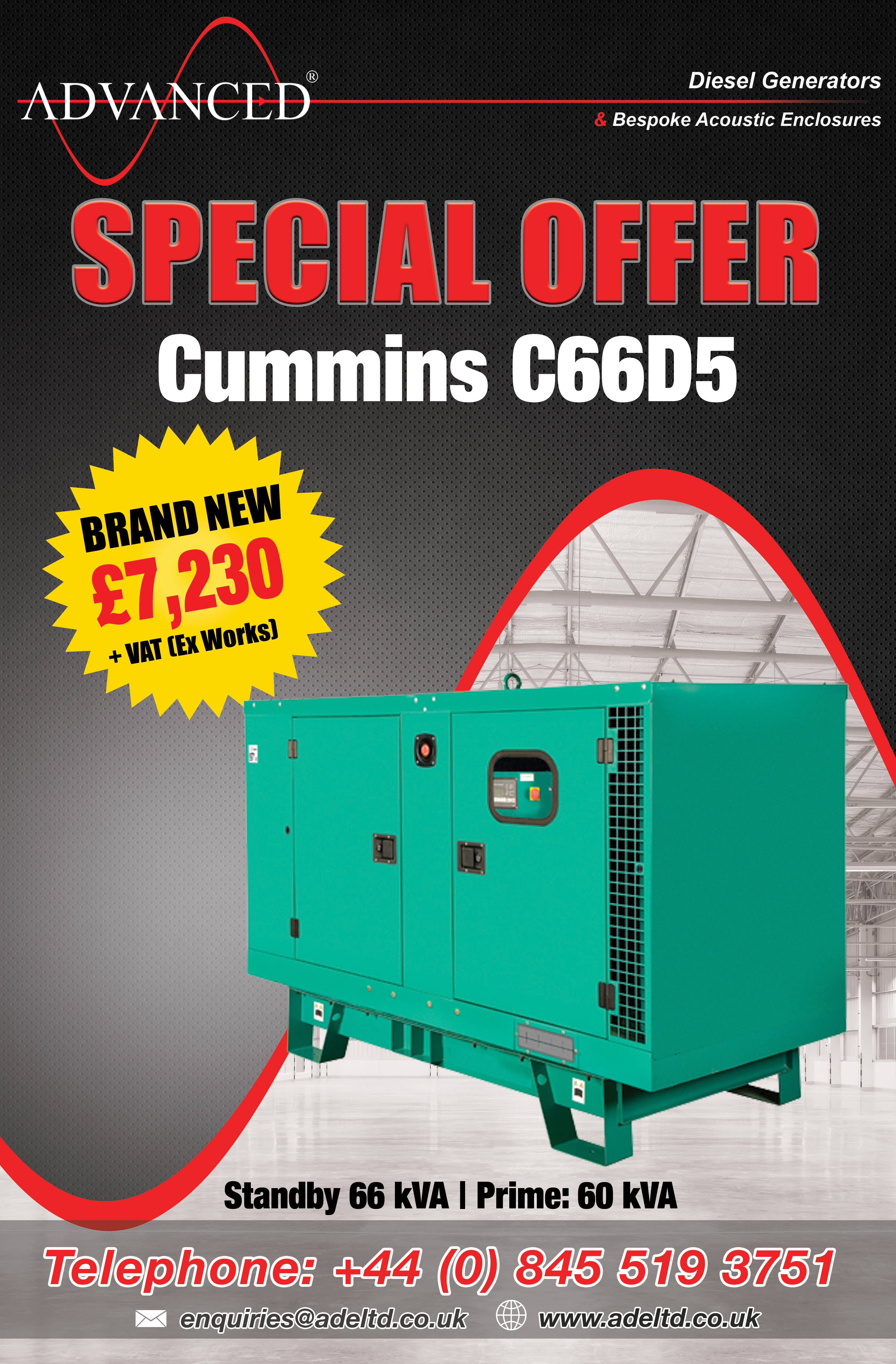 August Diesel Generator Special Offers
