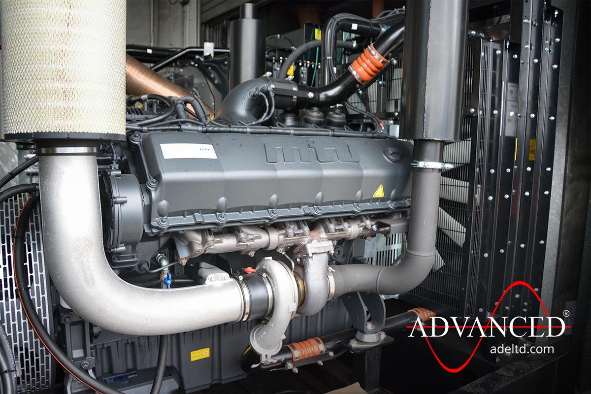 Office Complex Plantroom Installation Backup Diesel Generator